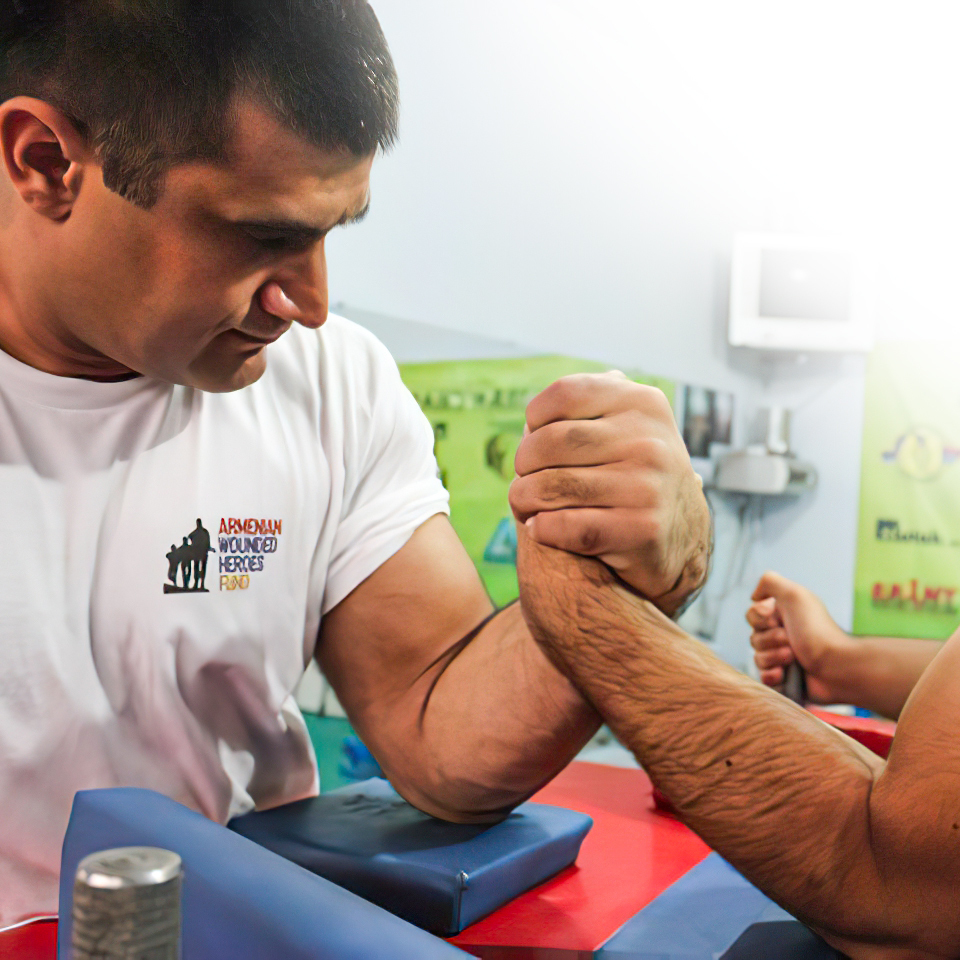 Sargis, a trimple amputee, has been the world champion of the paralympics for 2 years in a row.